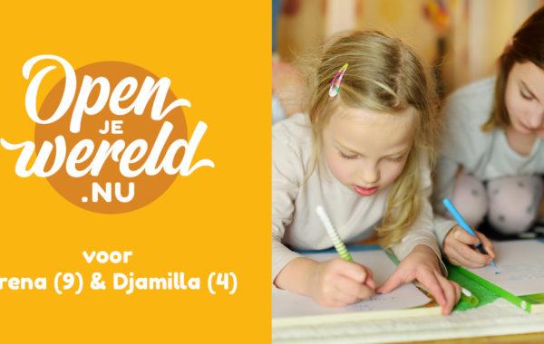 Open je wereld Serena en Djamilla