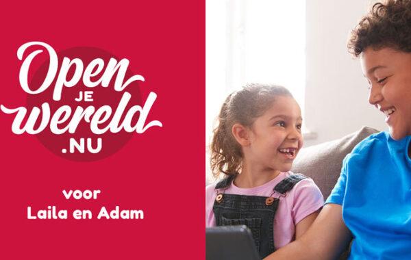 Openjewereld voor Laila en Adam