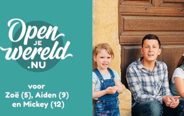 Open je wereld Zoe Aiden Mickey