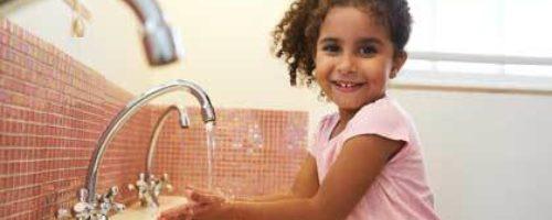 Handen wassen kind itemfoto